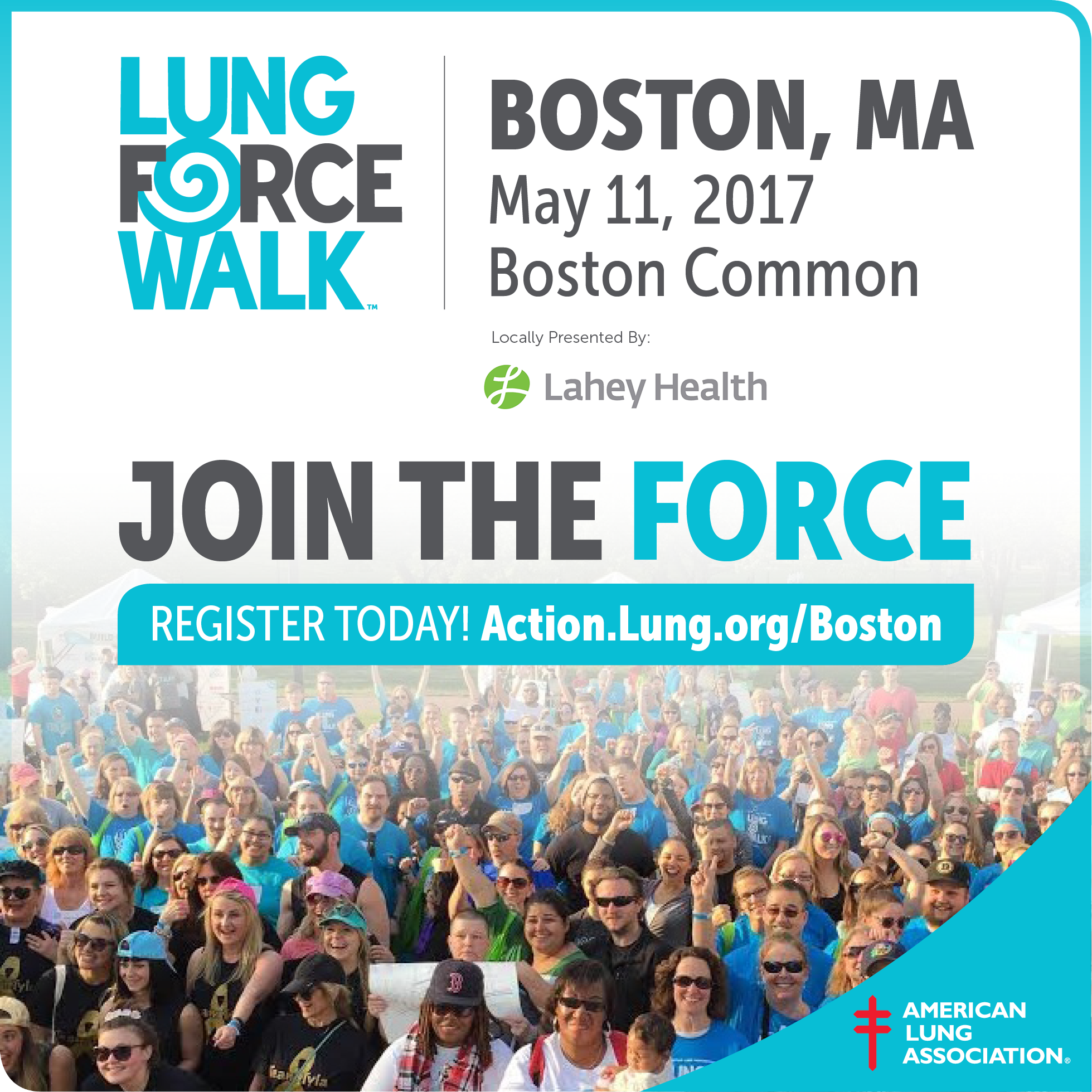 Join Us for Boston's LUNG FORCE Walk
